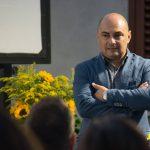 Il Sindaco di Florinas, Enrico Lobino