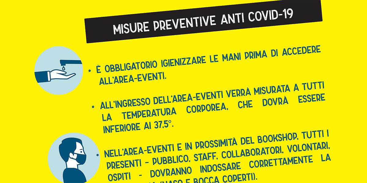 Florinas in giallo - l'Isola dei misteri - 2020 - Le misure anticovid