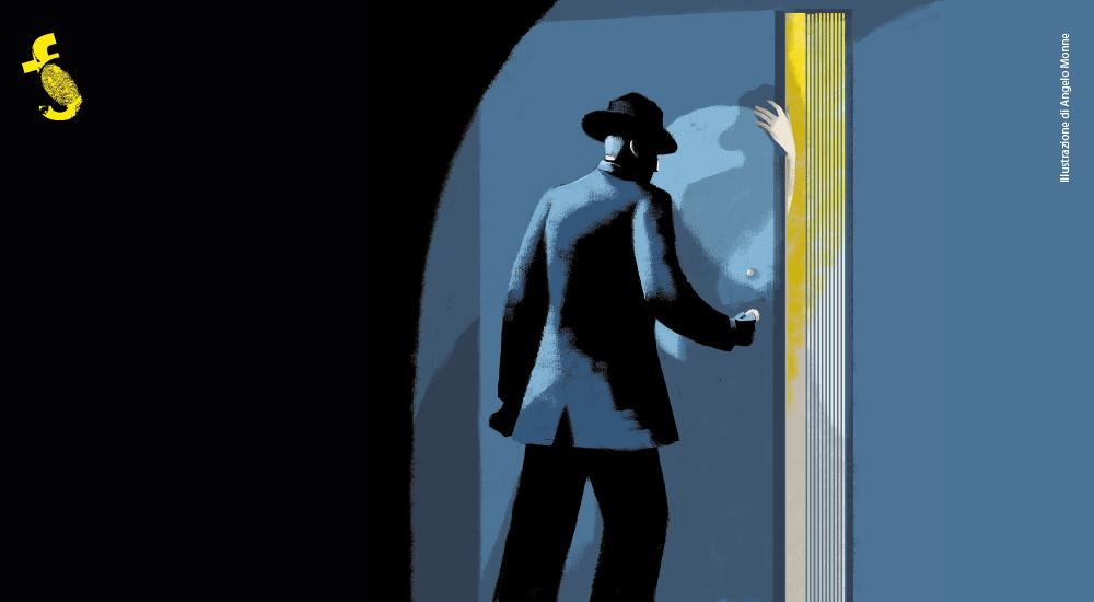 Florinas in giallo 2019: Il Programma - Illustrazione di Angelo Monne